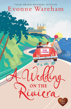 Evonne wareham novel A wedding on the riviera