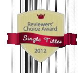 evonne wareham Winner of the Single Titles Reviewers Choice Award 2012
