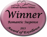 Evonne Wareham winner 2013 colorado romance award of excellence
